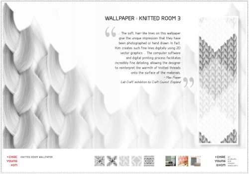 "papel de parede com ""estampa"" de tricot"